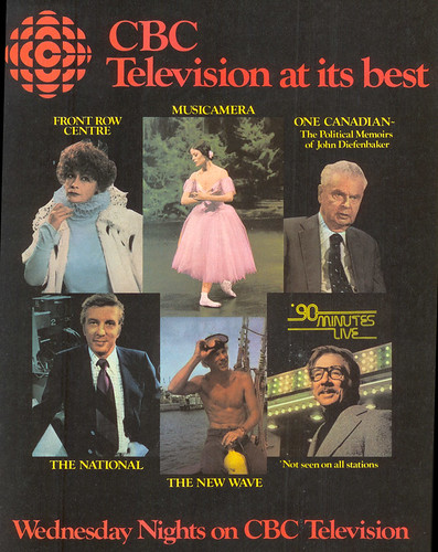 Vintage Ad #36 - CBC Television at its Best