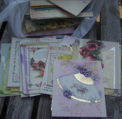 Ebay Score 1 - 120+ Vintage Birthday Cards