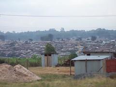 World's largest slum, Kibera, Nairobi, Kenya