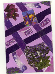 Purple Assignment Tag - Postcrossing