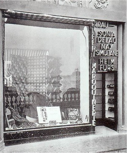 Art deco sonia delaunay boutique simultan e paris 1925 - Boutique art deco paris ...