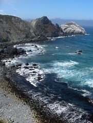 Deep Blue Ocean Waters