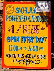 solar carousel 1