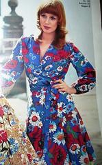 Vintage Dress pattern - 1972