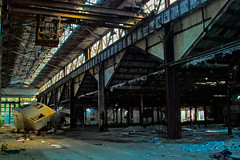 Exploring the Abandoned Packard Plant (Detroit, Michigan) photo by gregory lee
