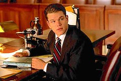 Matt Damon in The Rainmaker