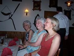 Margot, Waltraud and Heidi