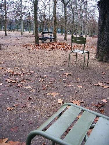 Winter in Le Jardin