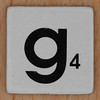 Word Game letter g