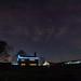 Starry Sky over Castleshaw - Saddleworth