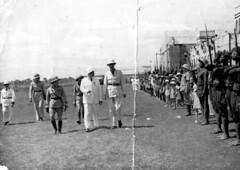 De Gaulle à Bangui en  1940 ( crédit : Jocelyne Terme née Bergonnier)
