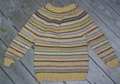 Lapsen paita  villalangasta (n. 98 cm)