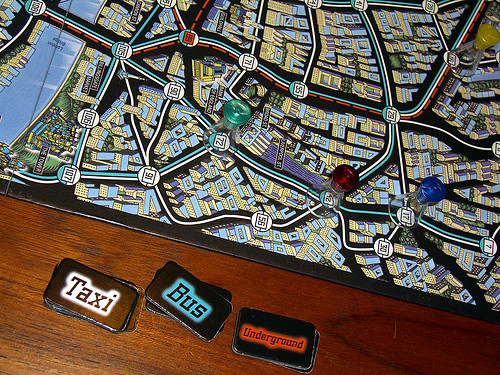 Scotland Yard Game taken by Magpie Moon