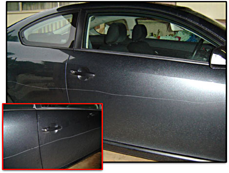 Repairing Keying On Car