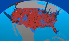 3D US Electoral Map