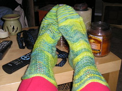 First finished socks _1