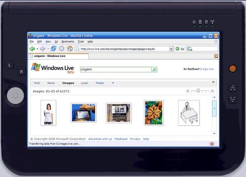 UMPC - Firefox