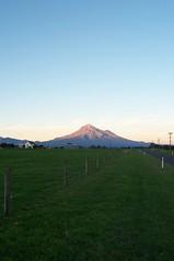 Mount Taranaki, North Island of New Zealand