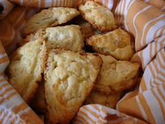 Triple Ginger Scones