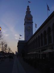Ferry Building@dawn