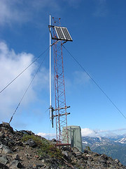 Relay Tower Atop Ruby Mtn