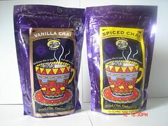 Vanilla/Spiced Chai