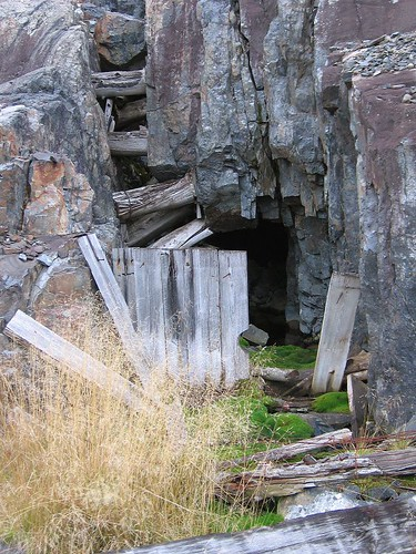 Abandoned Silver Mine In Northern Ontario