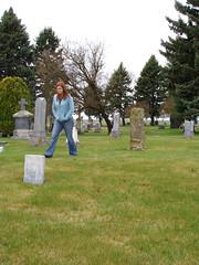 Felicia in Wilbur cemetery