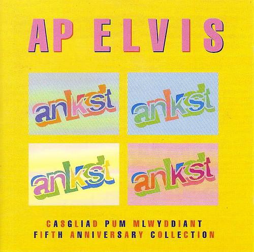 Ap Elvis - CD, clawr blaen