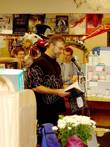 Christopher Moore at Anderson's Bookshop, Naperville, 2006