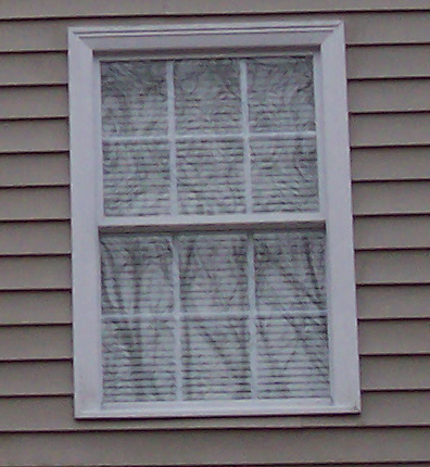 How hard to replace exterior window trim How to replace an exterior window