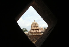 Darasuram-View through the grill