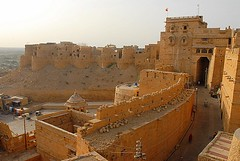 Fort in Jaisalmer, Jaisalmer, Rajasthan, India Captured April 14, 2006.