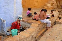 Family 1, Jaisalmer, Rajasthan, India Captured April 14, 2006.