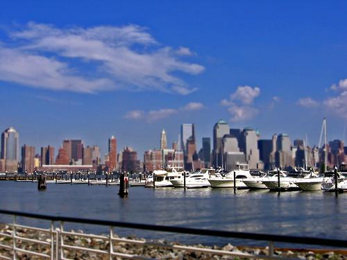 Manhattan from New Jersey
