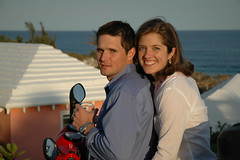 Linds and Chad (the beautiful couple), bermuda 05