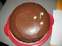 Photo of Bowling ball cake for Eric Newman