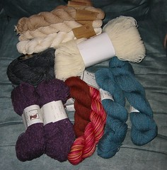 Skeins In Need Of Winding