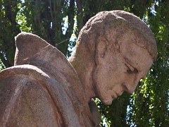 Neglected Statue