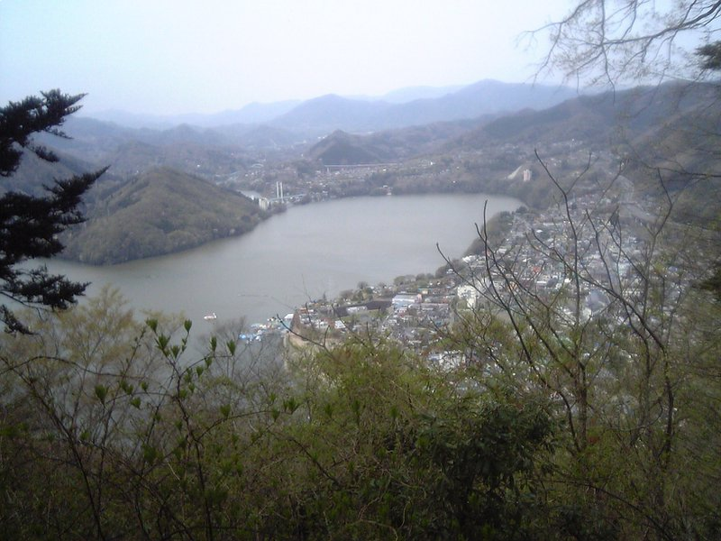 Yet another view from Takao-san