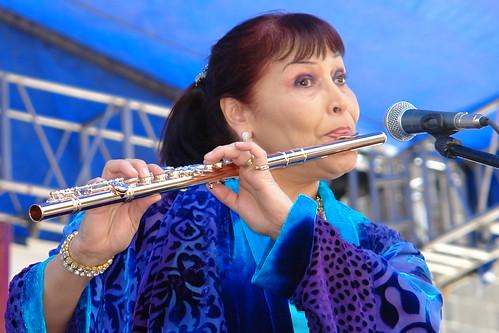 Elena Durán in Puebla