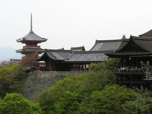 Kyoto - Pogled na Hram u brdu