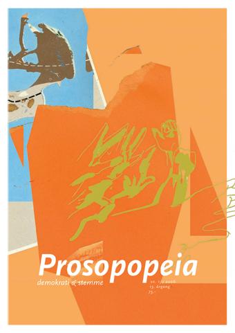 Prosopopeia # 1-2, 2006