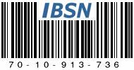 IBSN: Internet Blog Serial Number 70-10-913-736