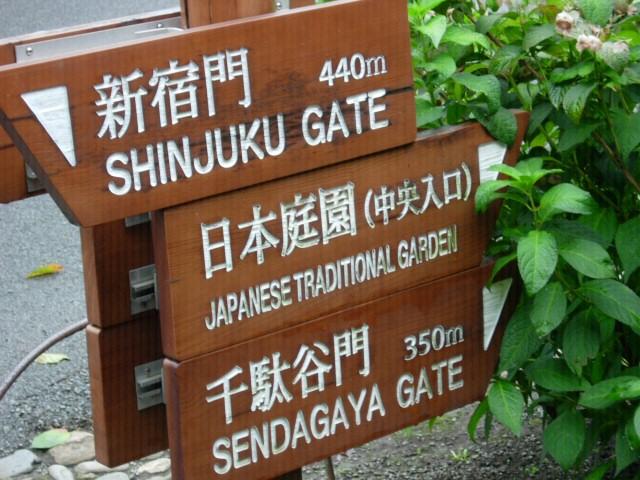 Shinjuku: drogowskazy