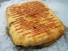 portabella mushroom panino