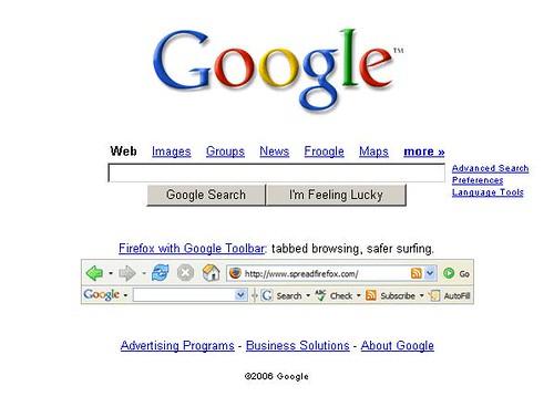 Google's Firefox Spread