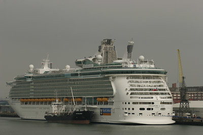 Freedom of the Seas at Southampton