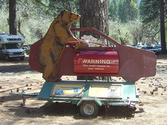 Yosemite - Bear Warning