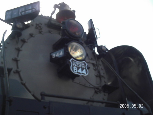 Union Pacific Steam Engine